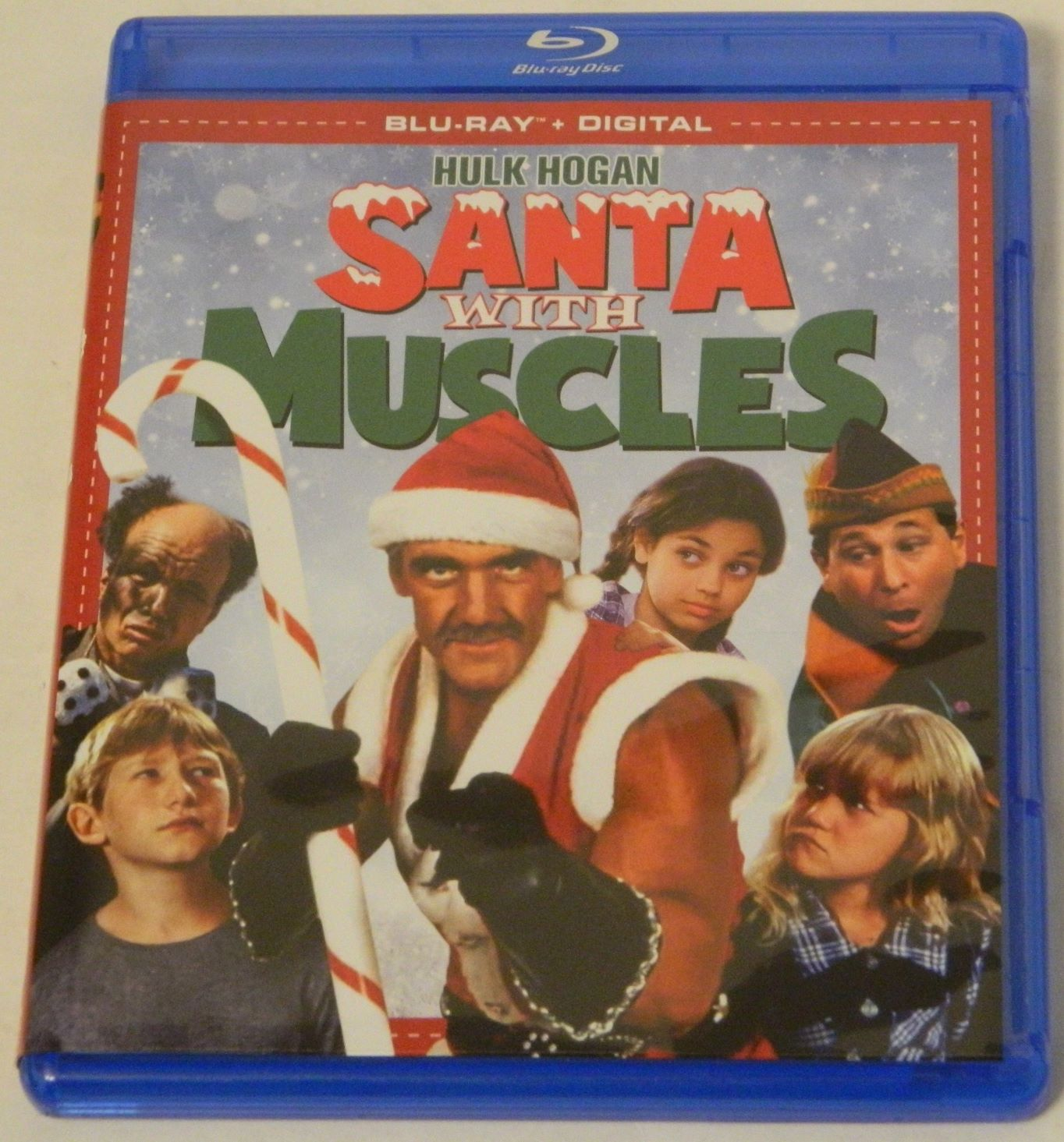 Santa With Muscles Blu-ray