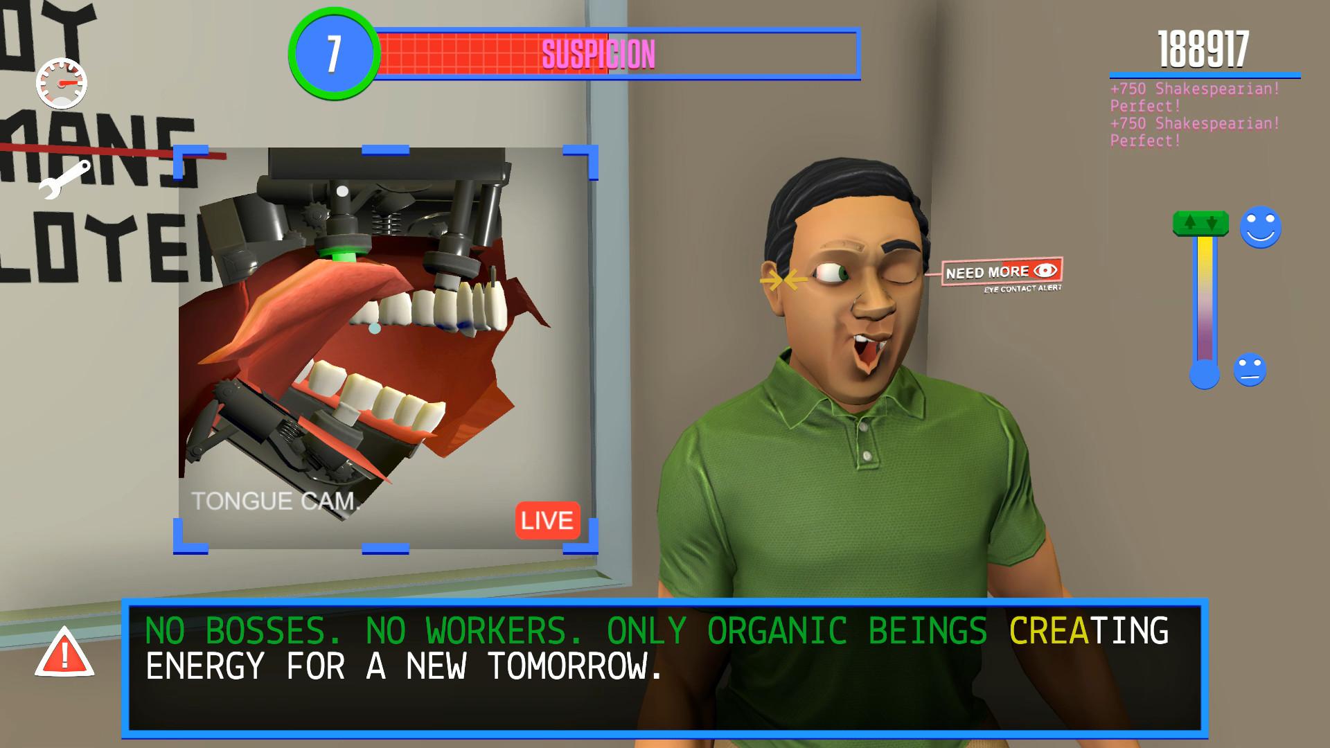 Speaking Simulator