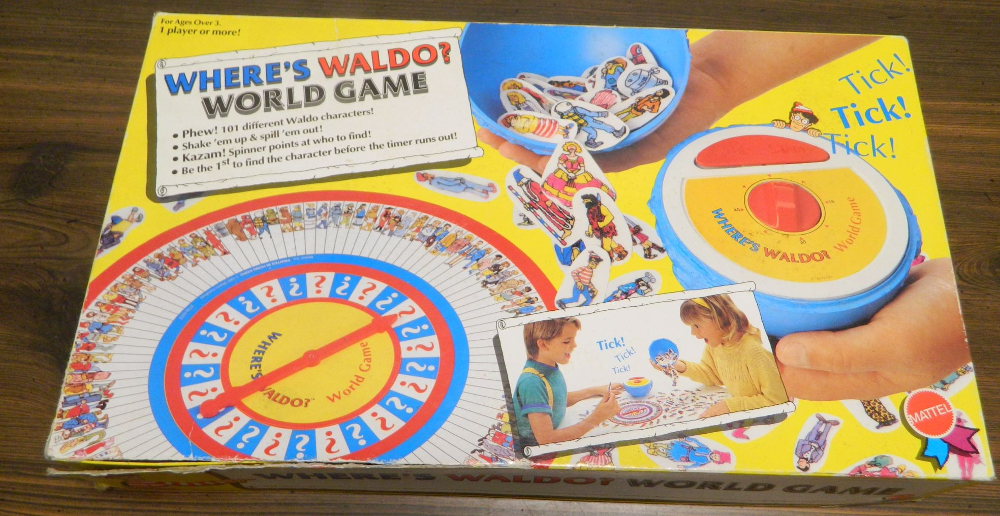 Box for Where's Waldo World Game