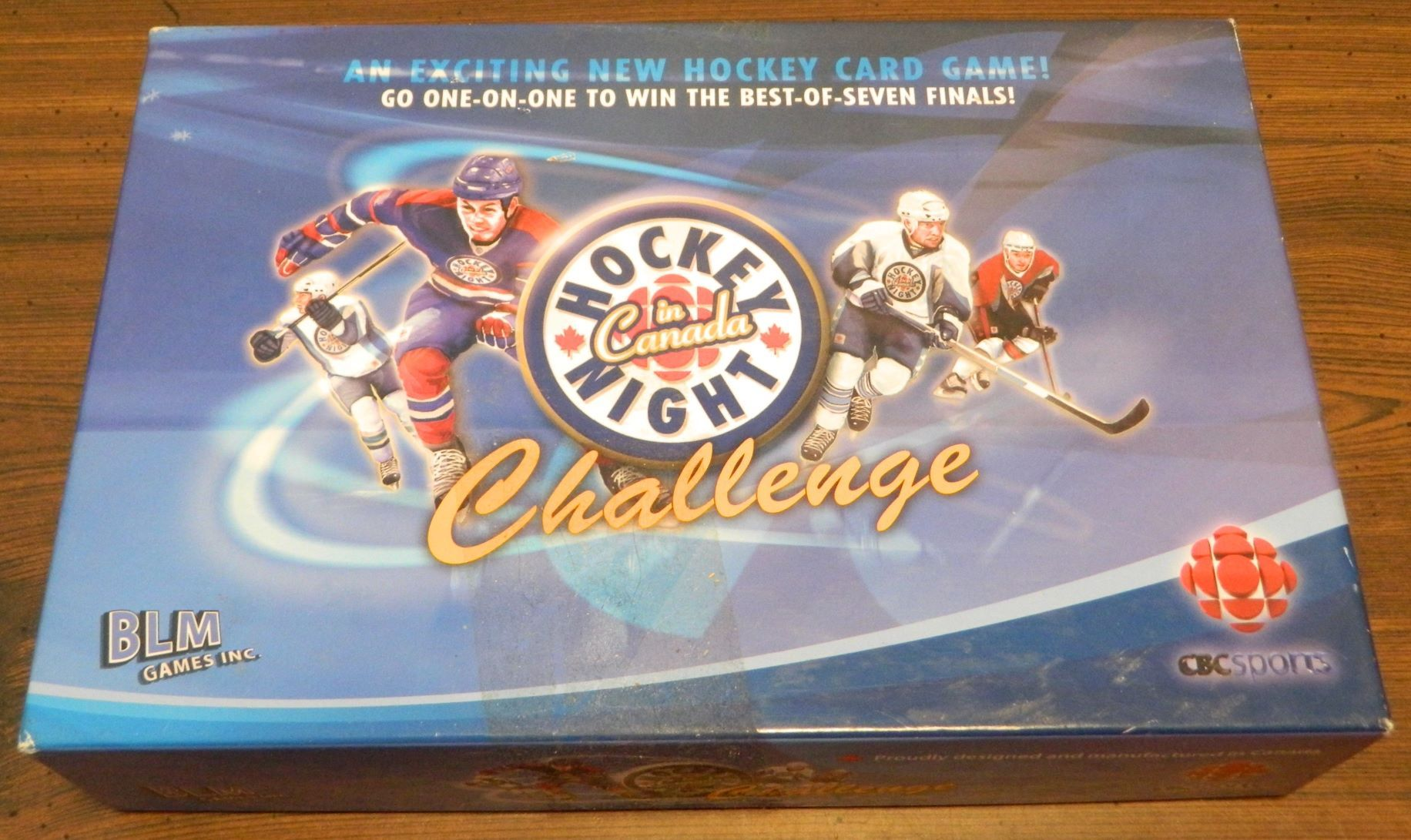 Box for Hockey Night in Canada Challenge