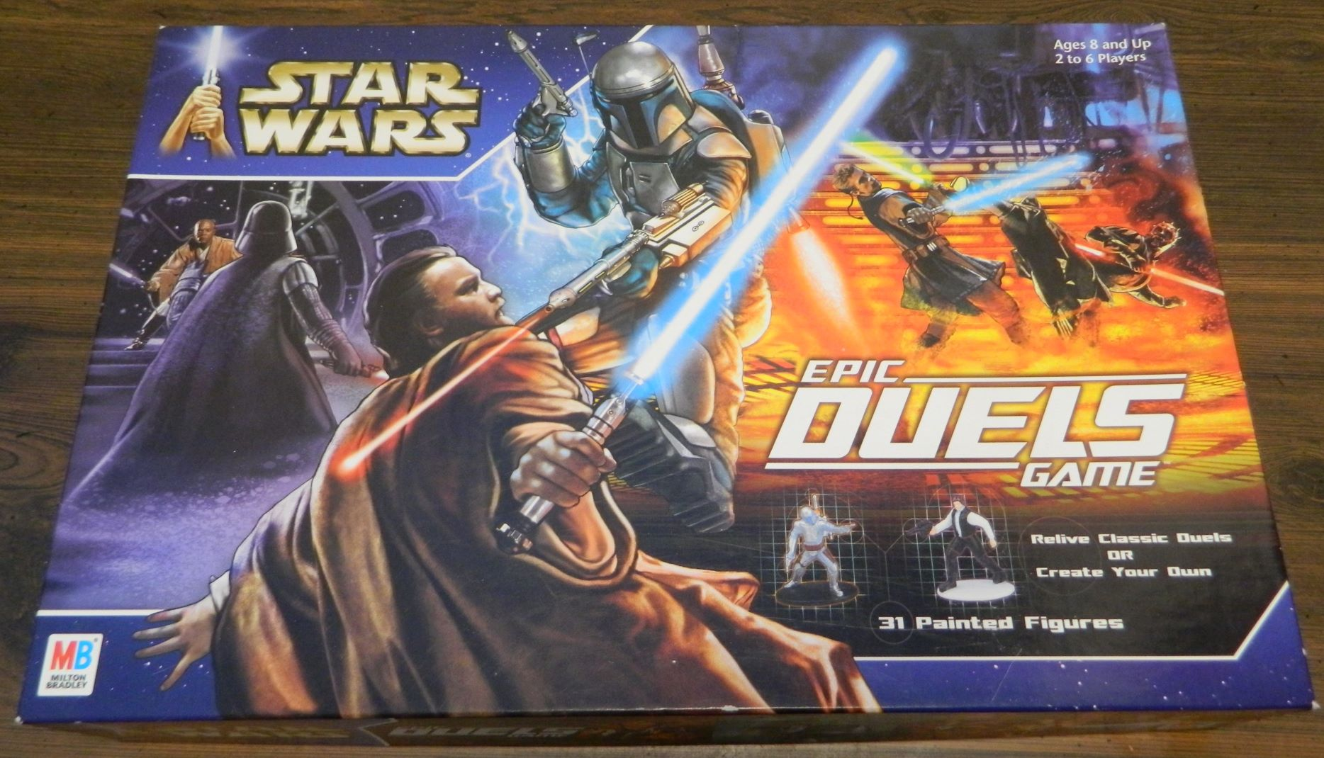 Box for Star Wars Epic Duels
