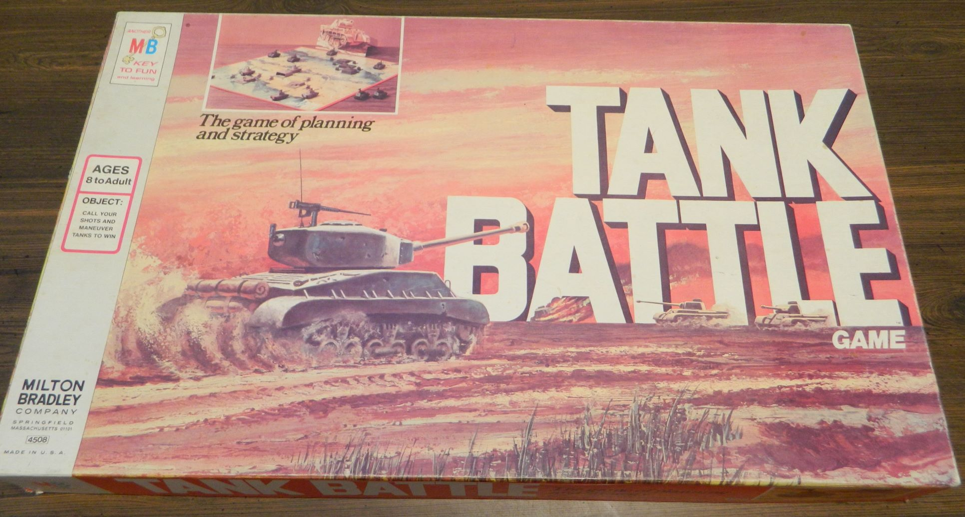 Box for Tank Battle