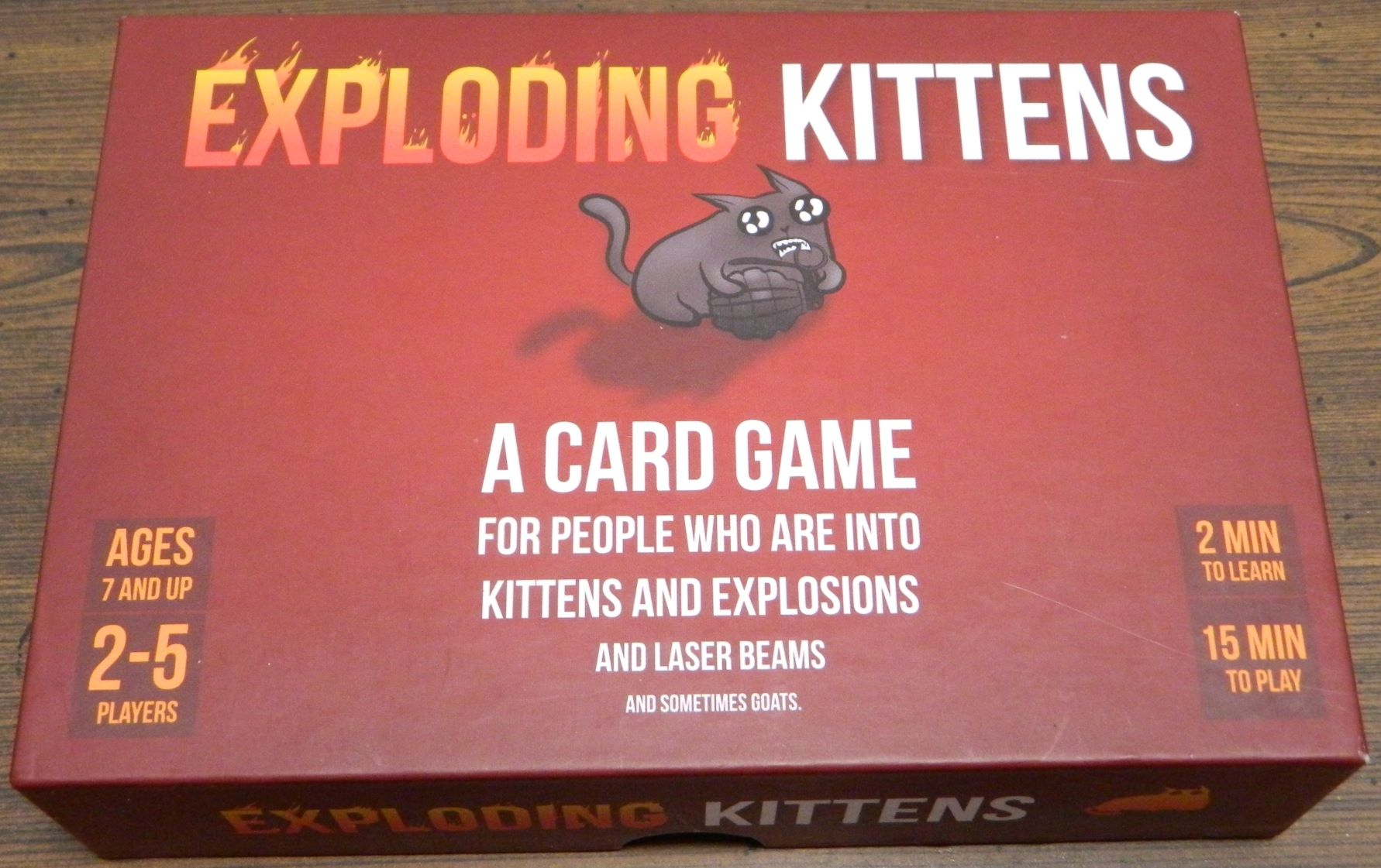 Box for Exploding Kittens