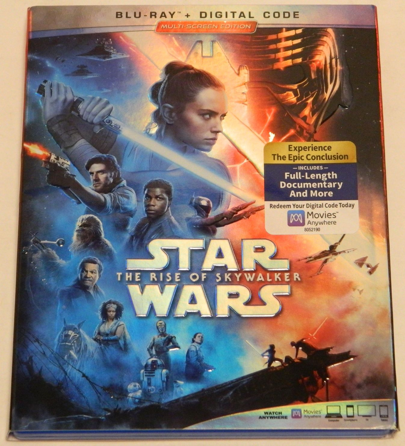 Star Wars: The Rise of Skywalker Blu-ray