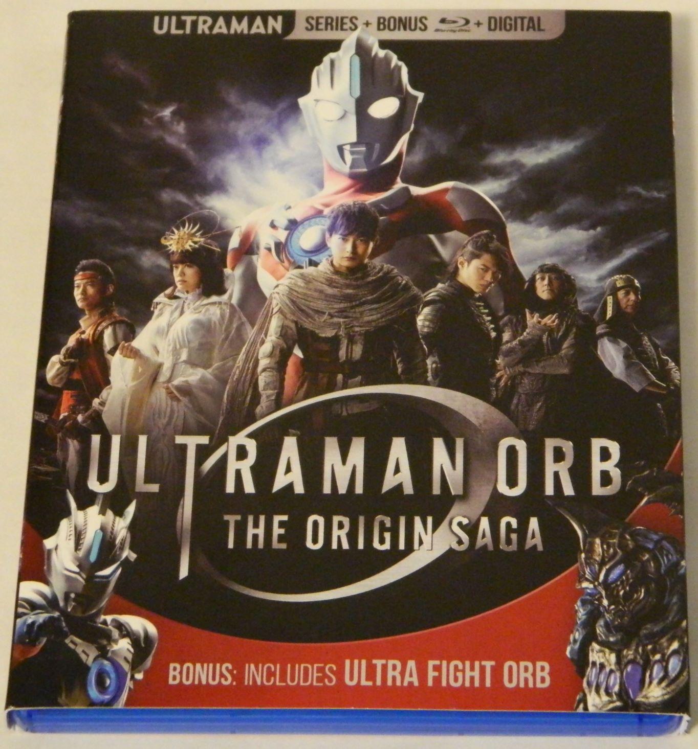 Ultraman Orb The Origin Saga Plus Ultra Fight Orb Blu-ray