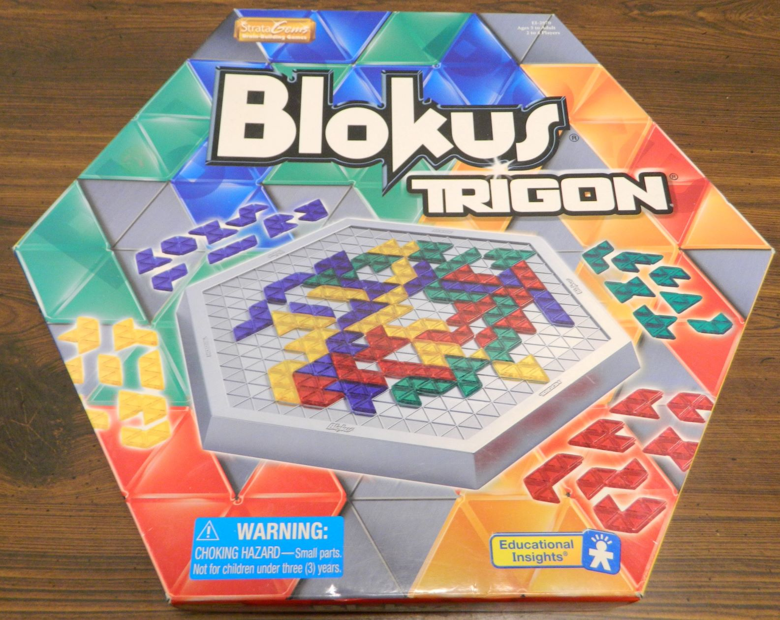 Box for Blokus Trigon