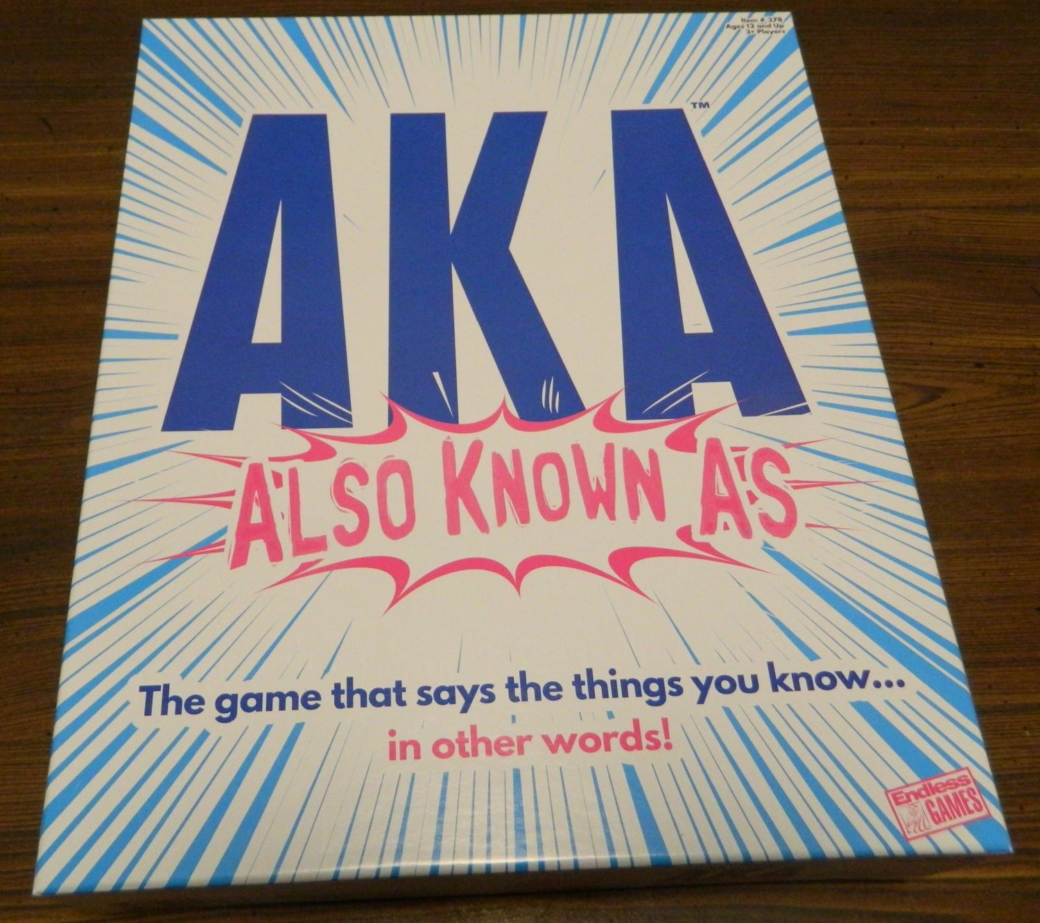 Box for AKA Also Known As