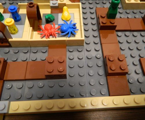 Shifting A Tile in LEGO Harry Potter Hogwarts