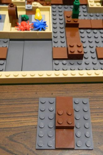 Shifting Tile in LEGO Harry Potter Hogwarts