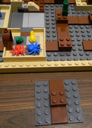Shifting Tiles in LEGO Harry Potter Hogwarts
