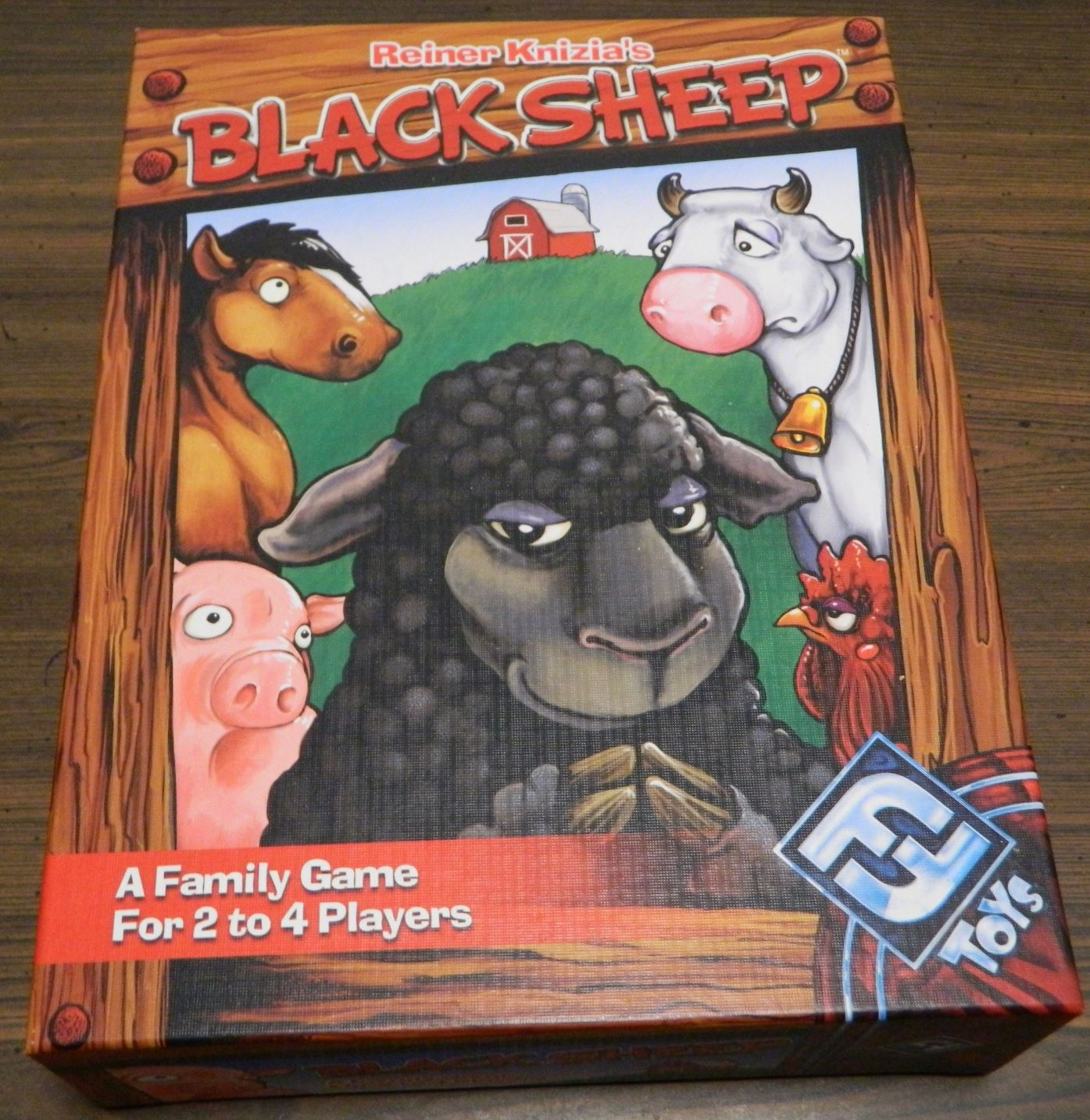 Box for Black Sheep