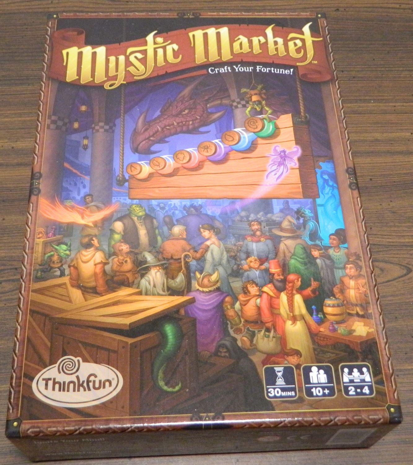 Box for Mystic Market