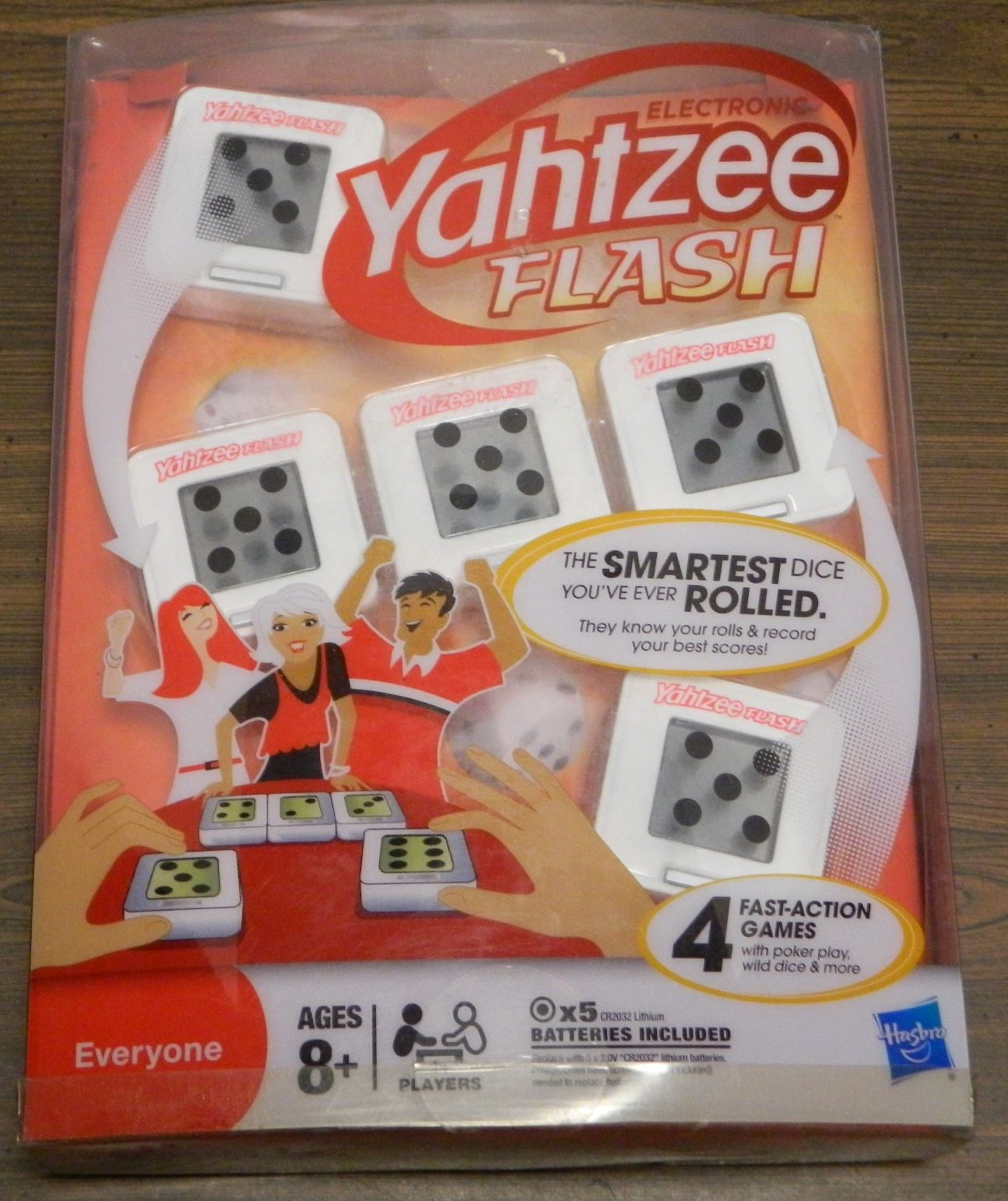 Box for Yahtzee Flash