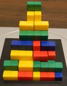 Four Player Steps Structure from Blokus 3D