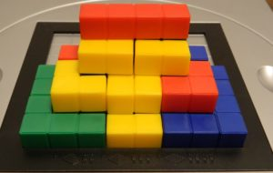Two Player Pyramid Structure from Blokus 3D