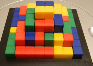 3-4 Player Pyramid Structure From Blokus 3D