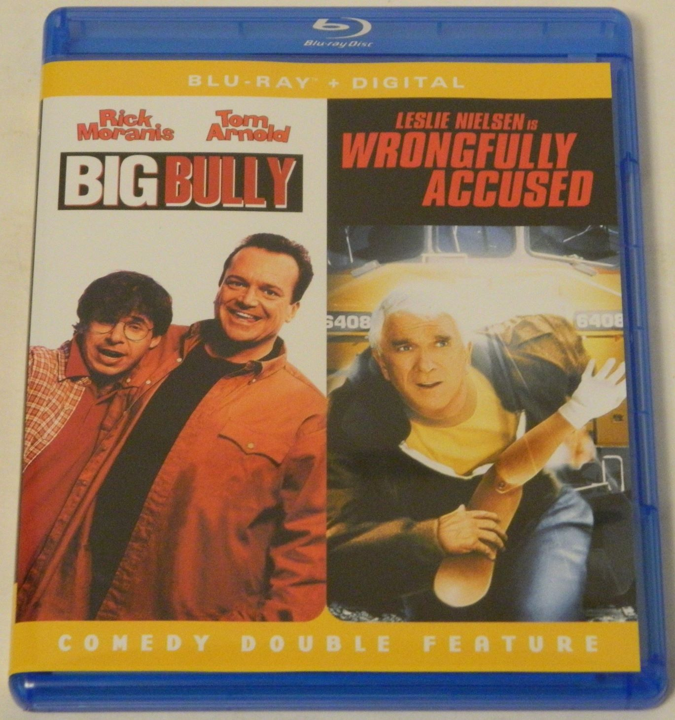Big Bully and Wrongfully Accused Comedy Double Feature Blu-ray