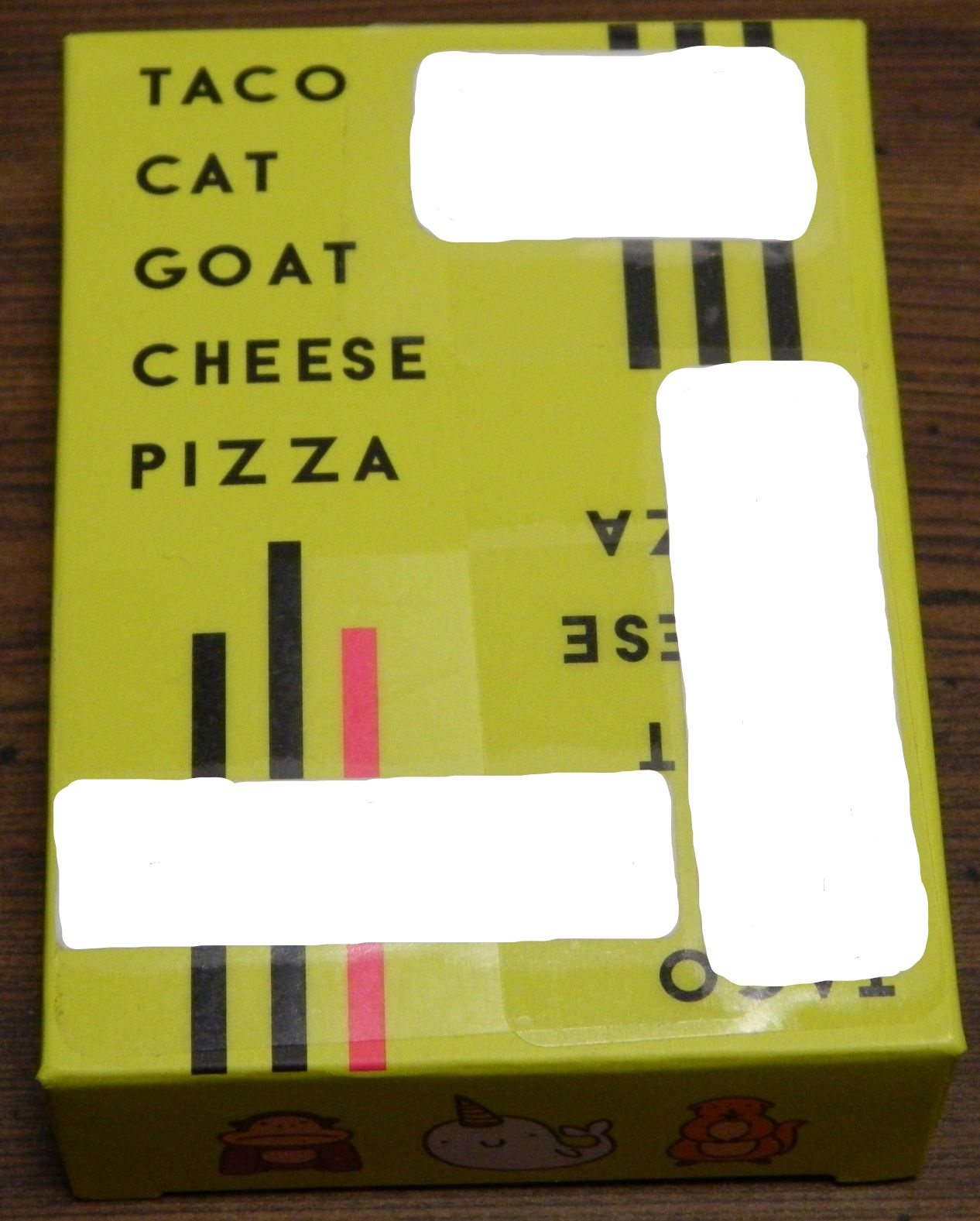 Box for Taco Cat Goat Cheese Pizza