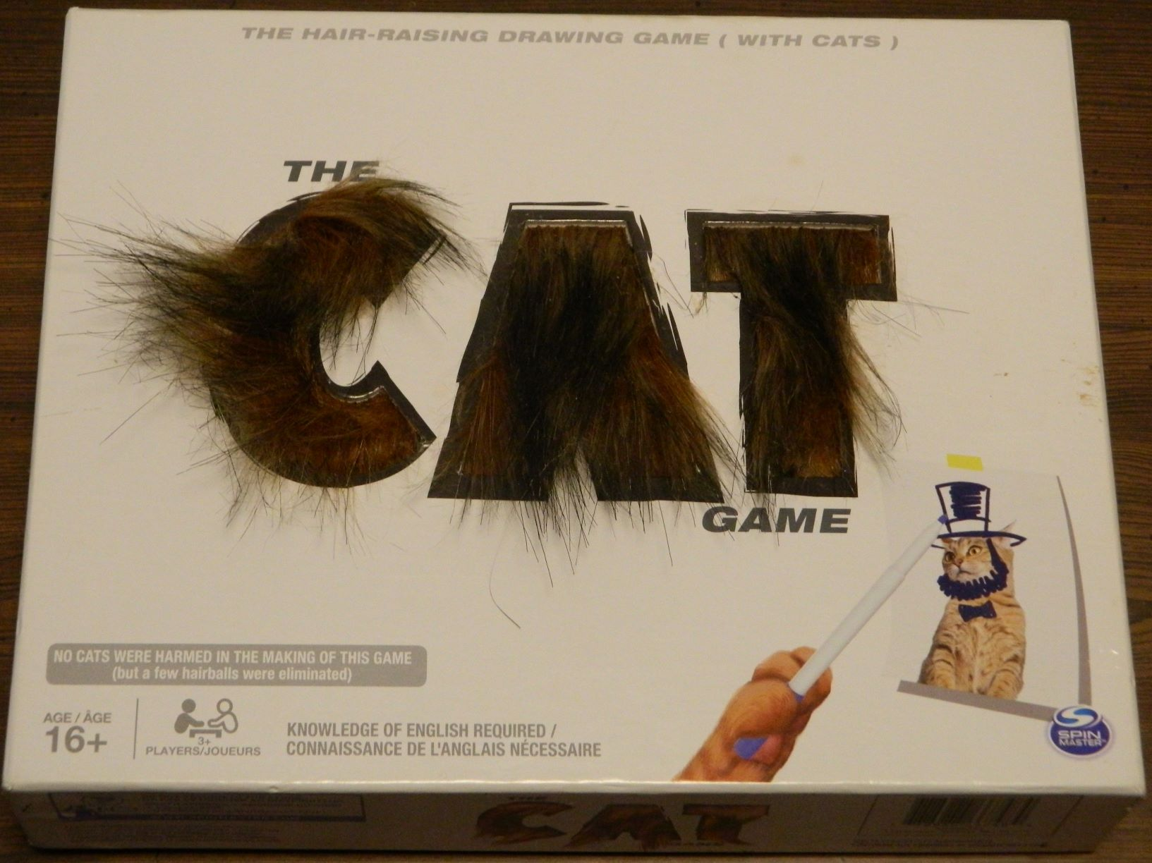 Box for The Cat Game
