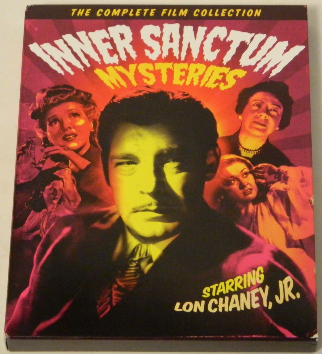 Inner Sanctum Mysteries The Complete Film Collection Blu-ray