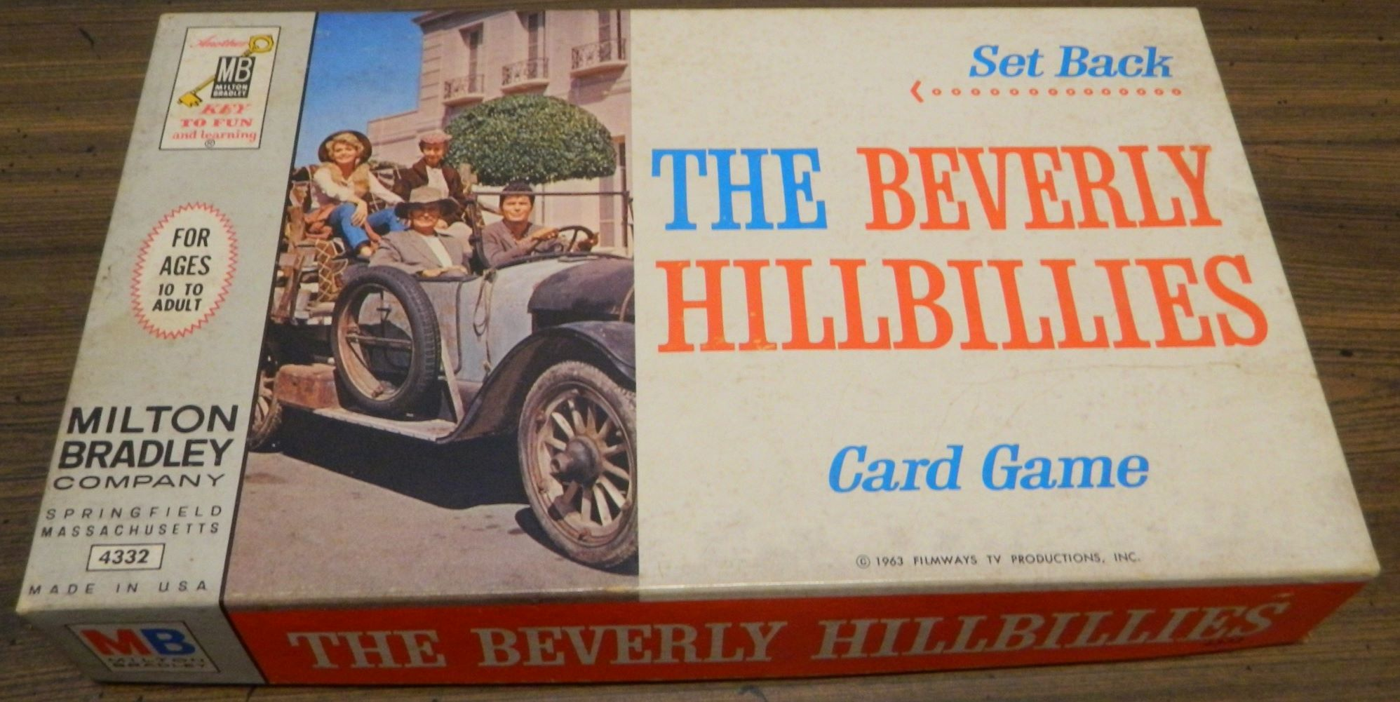 Set Back The Beverly Hillbillies Card Game Box