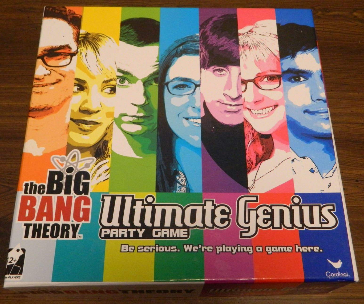 Box for The Big Bang Theory Ultimate Genius Party Game