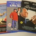 Crossroads Like Father Like Son and The Freshman Blu-rays
