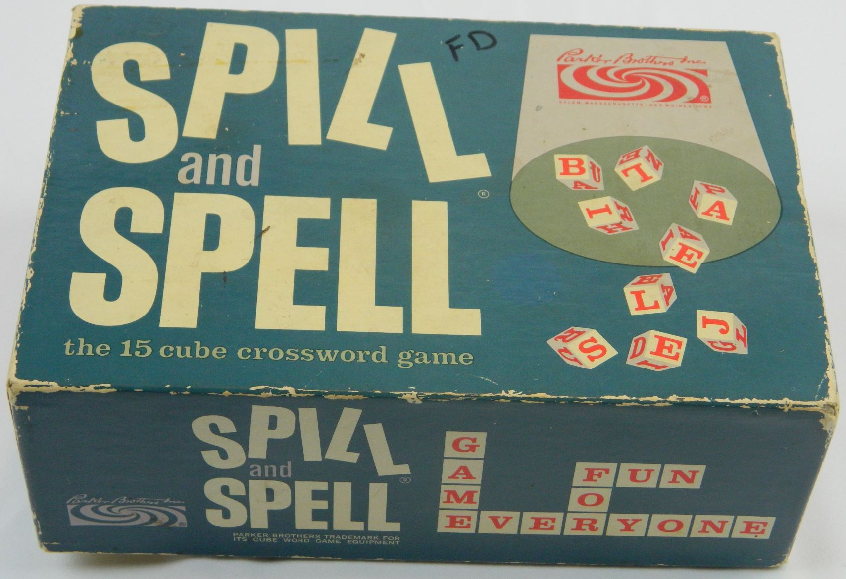 Box for Spill and Spell