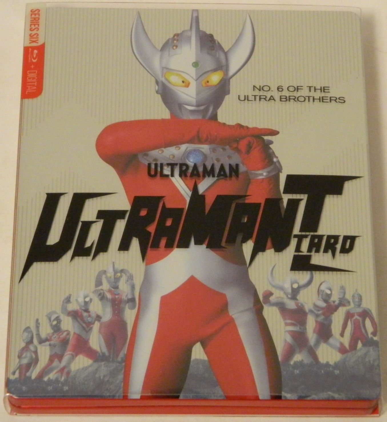 Ultraman Taro The Complete Series SteelBook Blu-ray