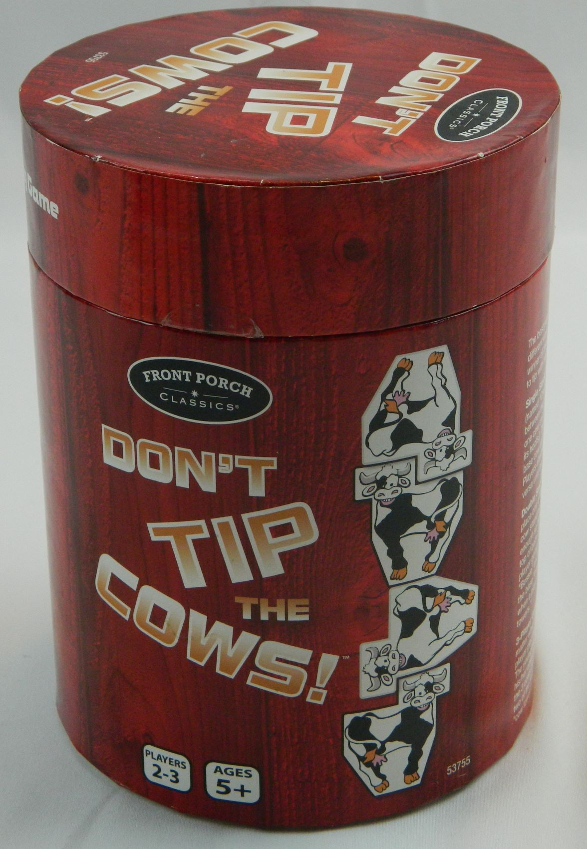 Box for Don't Tip the Cows