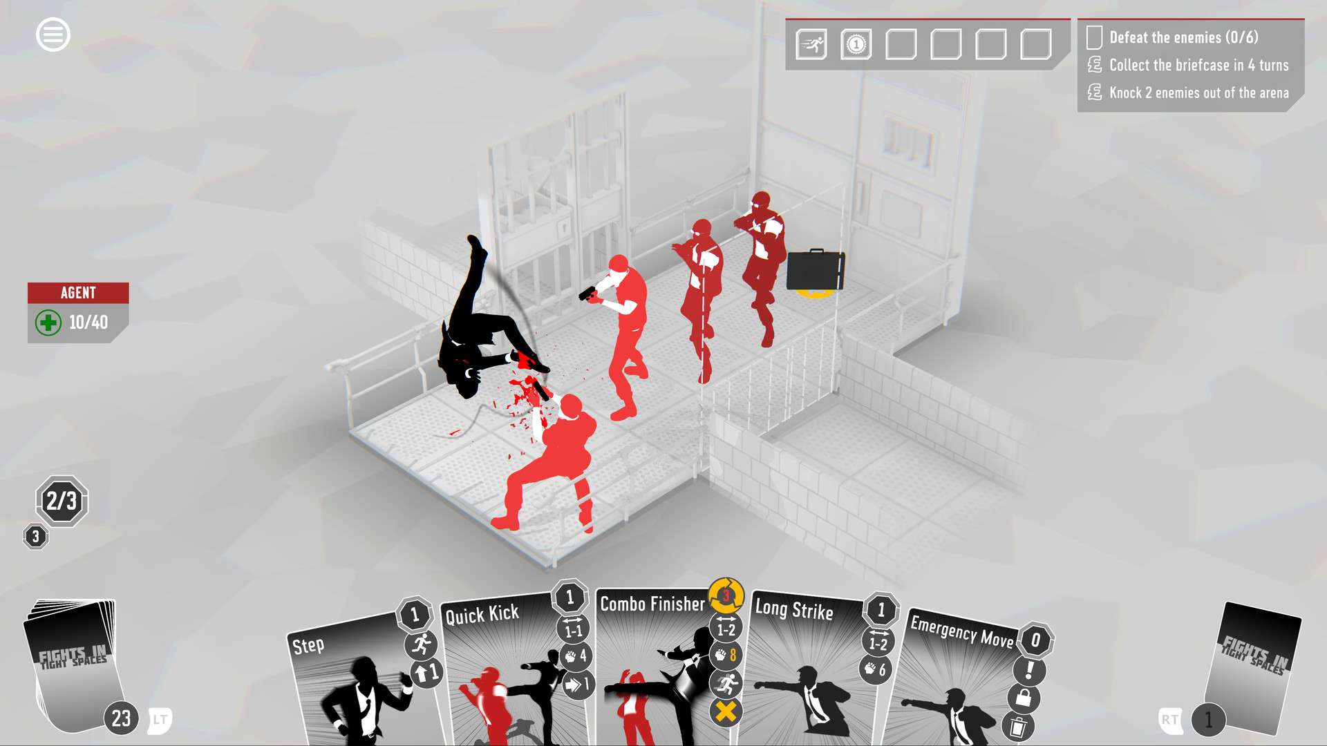 Fights in Tight Spaces Screenshot