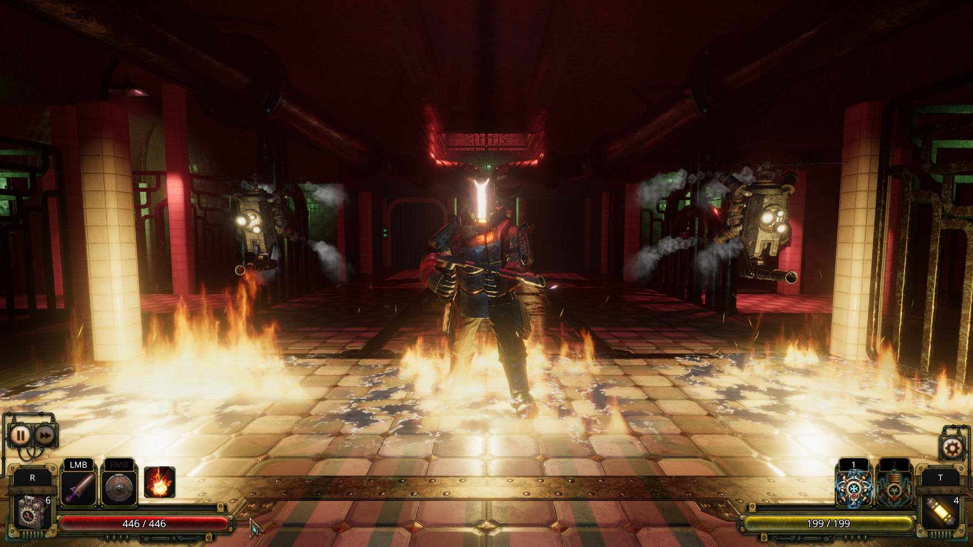 Vaporum: Lockdown Screenshot