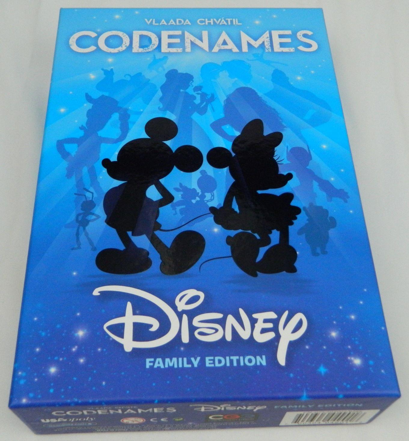 Box for Disney Codenamess